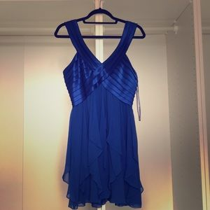 Blue dress from bcbg